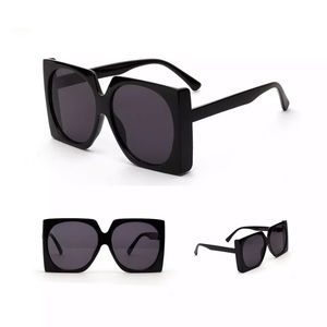 Retro Oversized Sunglasses In Black